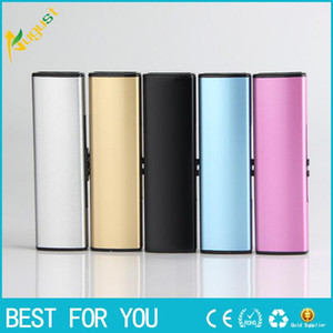 New creative personality push double lighters cigarette lighter USB rechargeable lighter windproof USB lighter for gift