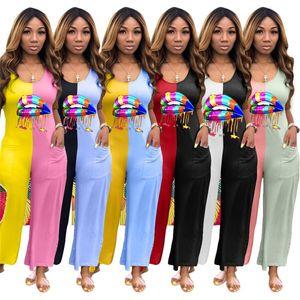 Las mujeres sin mangas del mono Labios Modelo del verano remiendo Bodysuit Pantalones de una pieza suelta casual de las señoras de los mamelucos del desgaste del club de noche D5603