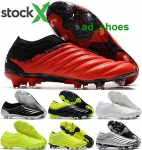 Мужские футбольных ботинки шарика AG Calcio женщины 20 мужчины детей утки обуви классического размер нас 12 евро 46 футбола Copa 19 FG нового прибытие 2020 скольжения на