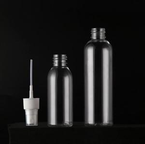 clear Factory Wholesale 100 Ml 120 Ml PET Disinfectant Spray Bottle Disinfectant Plastic Bottle Alcohol Spray Bottle DHL