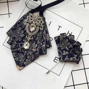 Bow Tie casamento Broche dos homens formais i-Remiel Masculino Gravatas New Designers de Moda para Homens Vestido camisa do smoking Collar Bowtie Acessórios