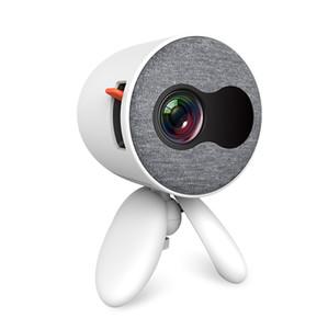 HD Mini projecteur portable YG220 prend en charge le téléphone portable avec le même écran 1080P HD Projecteur USB Video Player Video Player Ecran cadeau