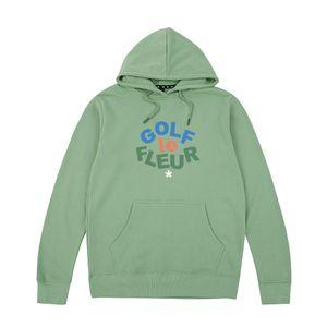 Golf Wang Flower Tyler hoodies camisolas Skate Oceano Harajuku mulheres dos homens unissex Algodão Penteado
