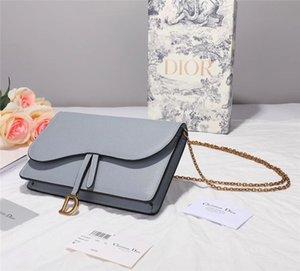 D4 de alta calidad Nueva bolsa de cuero bolsos de lujo marca francesa gama de moda para mujer de la decoración del bolso del recorrido del partido con caja de envío libre