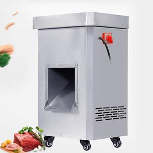 Qihang_top 2200W Commercial Meat резки нержавеющей стали Мясо Cutter Slicer Электрические машины DICING Новый 220V