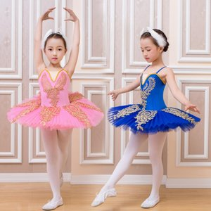 White/Pink Children's Ballet Tutu Dance Dress Costumes Little Swan Ballet Costumes Kids Girls Stage Wear Ballroom Dancing Dress