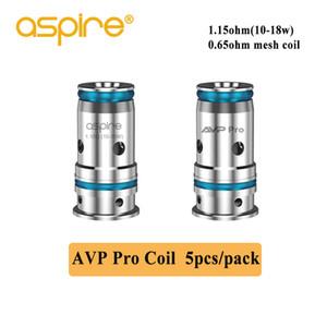 Аутентичные Aspire АВП Pro катушка стандартная катушка 1.15 ом сетки 0.65 ом катушки для Aspire АВП про РМО сигарета Vape испаритель