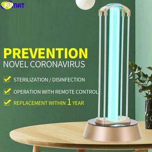 40W UV desinfect lampada UV germicida luce il doppio tubo di Sterization ultravioletta LampsRemote Cronocomando disinfezione dell'aria ozono