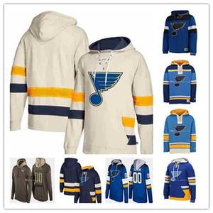 2019 hommes personnalisés Saint-Louis Blues Hockey Alex Pietrangelo Vladimir Tarasenko Schenn O'Reilly Allen Parayko Schwartz Sweatshirts