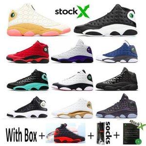 Chaussures Homme Chaussures de basket-ball 13 13s DMP Noir Histoire Cat de vol DMP Noir True Red Sport Gris Chaussures Toe J13