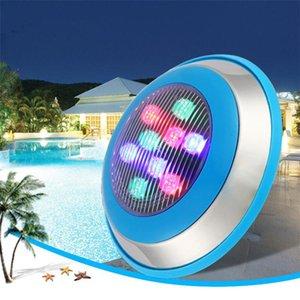 Fanlive 6pcs 6W 12w 15w 18w 24w 36w luce della piscina IP68 di CA 12V 24v rgb ha condotto subacquea Illuminazione esterna Pond lampade Piscine