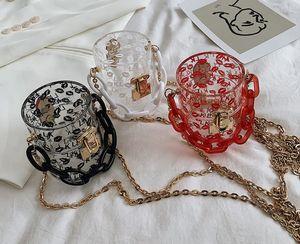 Designer Women's Bag 2020 Summer New Fashion Chain Shoulder Messenger Bag Wild Mini Jelly Bag