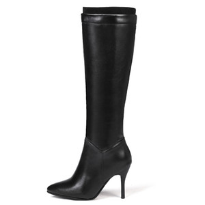 CDPUNDARI Sexy Knee women winter shoes Ladies High heels boots botas altas mujer sobre rodilla Y200115