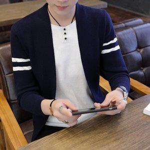 Cardigan Sweater 2020 Automne Nouveau coréenne Tendance Casual Handsome Veste en tricot mince automne Top