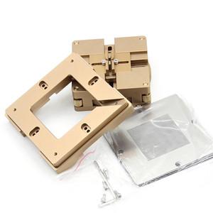 Freeshipping Lega di alluminio Bga Reball Kit Magnetismo Blocco 10 Pz 90 Mm Universale Bga Stencil Bga Solder Ball