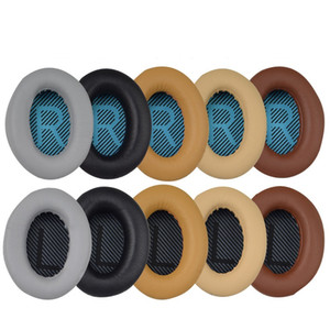 Kopfhörer Kopfhörer Ersatz Ohrpolster Ohrpolster Kissen Abdeckung für BOSE QC35 QC25 QC15 AE2 LR Pad Baumwolle 25 Paar
