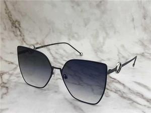 أعلى نوعية جديدة 0323 رجل رجل نظارات شمس نظارات الشمس النساء النظارات الشمسية الاسلوب المناسب يحمي عيون Gafas دي سول هلالية دي سولي مع مربع