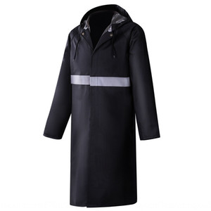 3531 thickened long jumpsuit men's Cloak Oxford cloth and women's 87-style Oxford cloth patrol sanitation poncho waterproof suit