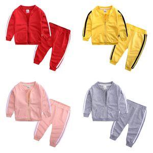 Новые детские спортивные костюмы для малышей Спортивные костюмы для детей Спортивные костюмы для мальчиков Спортивная спортивная одежда Для девочек Наряды повседневные костюмы Детская одежда Одежда для мальчиков A3589