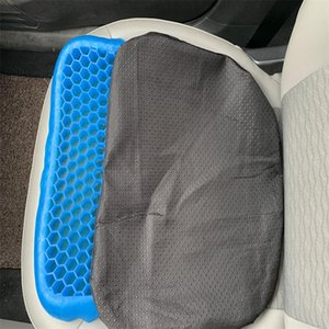 Fashion 3D honeycomb ice pad gel cushion non-slip soft and comfortable outdoor massage office chair cushion carpet dropshipping