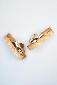 Bambi Gold-Frauen 'S Slipper F0301585139