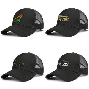 Unisex In-N-Out Burger Neon Sign Adjustable Trucker Cap Cricket Fitted Unique Vintage Baseball Hat in-n-out burger Flash gold Camouflage