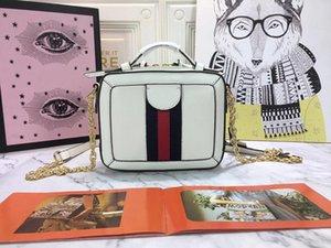 tasarımcı lüks çanta çanta Ophidia gerçek deri bayan kare kutusu stili Gucy çanta moda kılıf tasarımcı çanta çanta