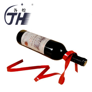 GH Sıcak suspensible Kurdele Şaraplık Şarap Şişe Tutucu Noble Sihirli Halat Whisky Aksesuarları Bar Araçlar Standı