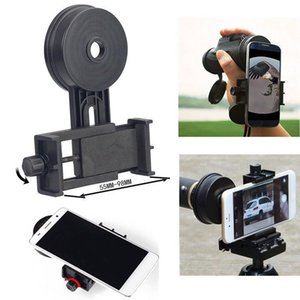 Telescope Spotting Scope Mount Cell Phone Holder Microscope Astronomical Adapter Clip Binocular Phone Stand