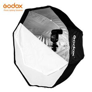 Godox 120 centímetros 47in portátil Octagon Softbox guarda-chuva Brolly refletor para Speedlight flash T200610