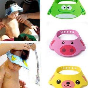 Caps bella di nuovo arrivo del cappello registrabile del bambino bambino bambini Shampoo Facendo il bagno doccia cappucci per il lavaggio dei capelli Visiera per la cura del bambino