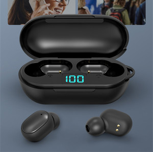 H6 TWS True Wireless Earphone Bluetooth 5.0 for Redmi Airdots LED Business Stereo Headphone Mini Buds A6s Sport Earbuds Gaming Headset