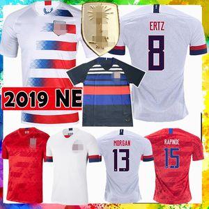 Мужская женская LLOYD MENS KRIEGER 11 MORGAN 13 America United States Soccer Jersey футбольная рубашка RIPINOE Pulisic McKennie National team