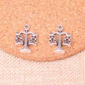 55pcs Charms libra Waage der Gerechtigkeit 22 * 17mm Antike, die Anhänger fit, Jahrgang Tibetischen Silber, DIY Handgemachter Schmuck