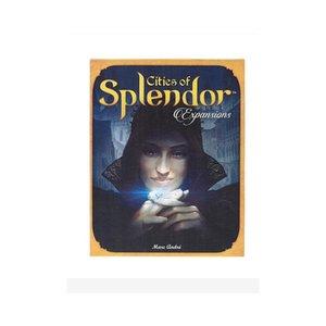 Новая и интересная настольная игра Splendor английская версия резиновый Playmat взаимодействие родителей и детей взрослая семейная карточная игра Y200421