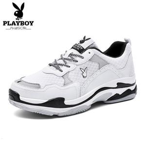 PLAYBOY 2018 caldi di estate calza la vendita barca delle donne delle scarpe da tennis Mesh traspirante fannulloni dei pattini casuali morbido comodo scarpe stringate SH190930