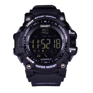 EX16 스마트 시계 블루투스 방수 IP67 아이폰 안드로이드 전화 시계 5 ATM Smartwatch Relogios 보수계 스톱워치 스포츠 손목 시계