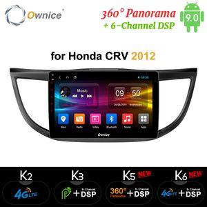 4 2012 2013 2014 2015 2016 Ownice 8Core Android 9.0 360 Panorama Oto DVD Radyo K3 K5 K6 için Honda CRV CRV