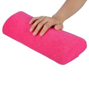 2019 Salon Hand Rest Cushion Detachable Washable Nail Art Soft Sponge Pillow Nail Manicure Care Salon Half Column Tool 5 Colors
