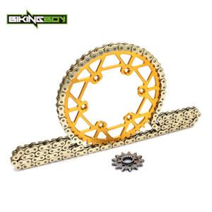 BIKINGBOY RM-Z RMZ 450 05 06 07 08 09 2010 2011 2012 2013 2014 frente 13 t trasero 48 t 49 T 50 t 51 t 52 T piñón 520 120L x-ring cadena