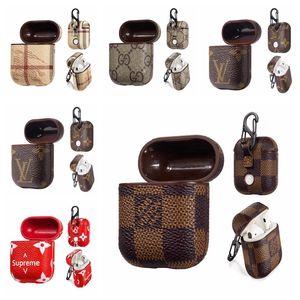 Новая марка Защитный чехол для iPhone Airpods iPhone 7 8 X Близнецы Правда Беспроводная гарнитура Анти-капля кожи Airpod Защитная крышка сумка A06