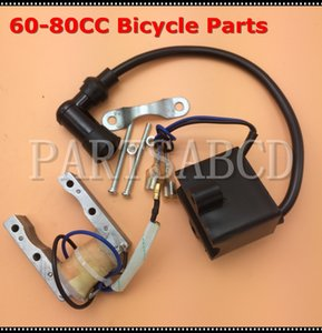 Magneto estator Bobina de encendido CDI 49cc 66cc 80cc 2 tiempos Cilindrada motor motorizado de bicicletas