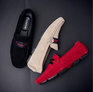 Новый высокое качество кожа мода лето стиль мягкие мокасины мужчины мокасины роскошные съемным увеличителем квартиры Gommino обувь для вождения H101