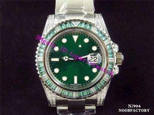N V9 Diamond мужские часы дата 116610LV роскошные мужские часы швейцарский 2836-2 автоматический механический 904L нержавеющая сталь супер светящийся водонепроницаемый