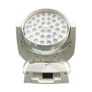 Promoción de ventas Carcasa blanca 36 * 18W Led RGBWA + UV 6in1 Zoom Cabeza móvil luz