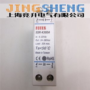 SSR-K30DA FOTEK New & Original Single-phase Guideway Solid State Relay Module