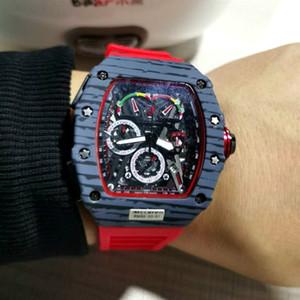 톱 브랜드 명품 남성 시계 큰 남성 패션 손목 시계 Relogio Masculino에 대한 남성 크로노 그래프 해골 클래식 남성의 스포츠 시계 다이얼
