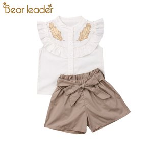 Bear Leader Summer Toddler Kids Baby Girl Dress Sling Striped Summer Sundress Jumpsuits Playsuit Shorts Holiday Outfit Clothes T200707