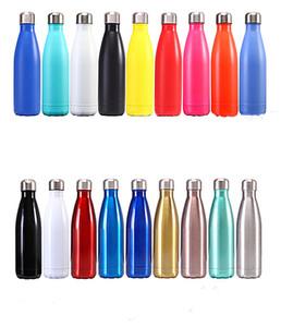 Fedex 17oz нержавеющей стали бутылки колы бутылки колы форма воды изолированы двойные термос стенки бутылки многоразового использования воды металла