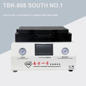 ТБК-808 12-дюймовый изогнутый экран Вакуумная Ламинирование и Bubble Удаление машины ламинатор и противопузырьковой камерой для ЖК-экрана Ремонт